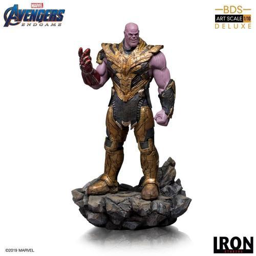 Avengers endgame bds art 1 10eme thanos black order deluxe 29cm