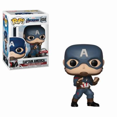 Avengers endgame bobble head pop n 450 cpt america limited