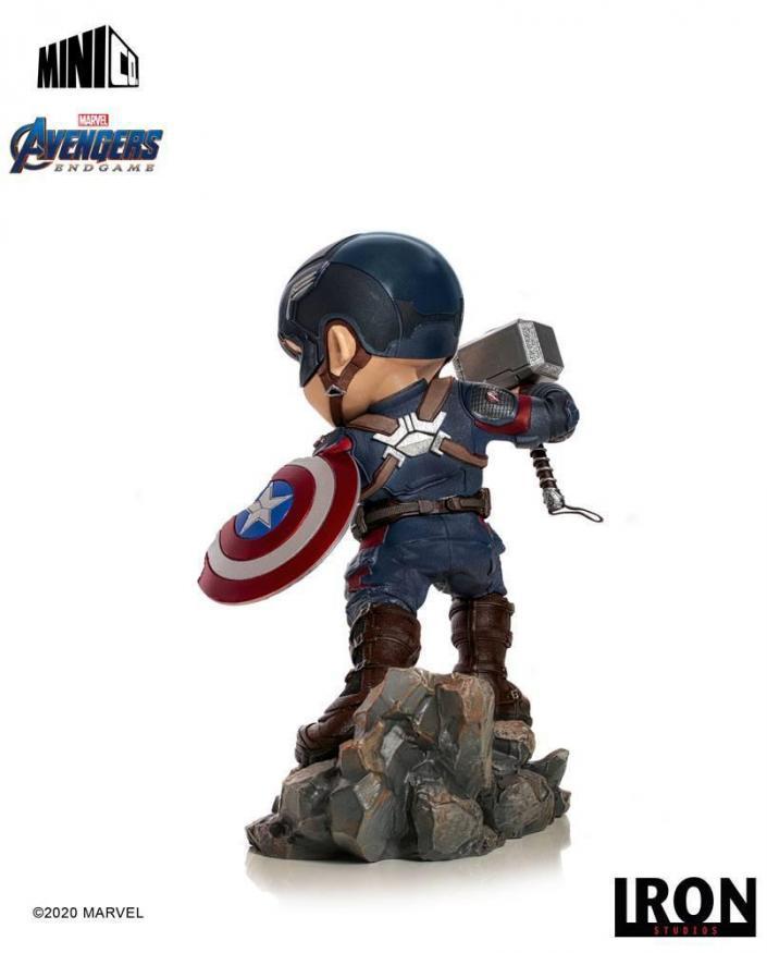 Avengers endgame captain america figurine mini co 15cm 1