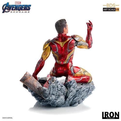 Avengers endgame i am iron man statue 15cm 1