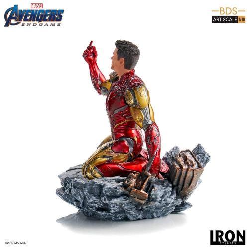 Avengers endgame i am iron man statue 15cm 2