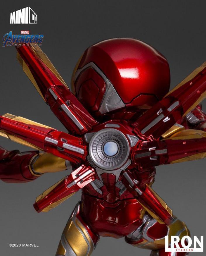 Avengers endgame iron man figurine mini co 20cm 3