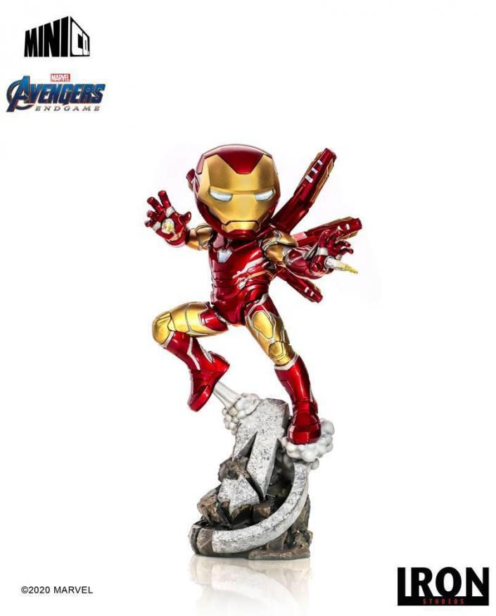 Avengers endgame iron man figurine mini co 20cm