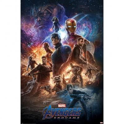 Avengers endgame poster 61x91 from the ashes