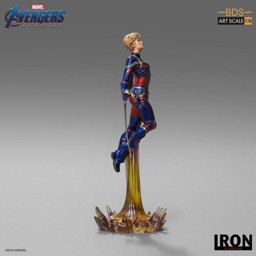 Avengers endgame statuette bds art captain marvel 26cm 1