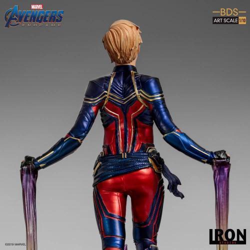 Avengers endgame statuette bds art captain marvel 26cm 2