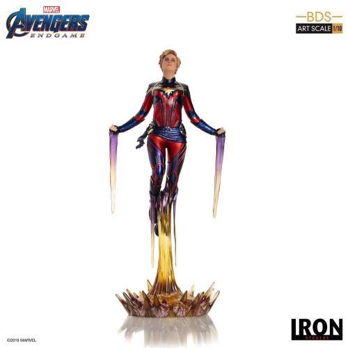 Avengers endgame statuette bds art captain marvel 26cm