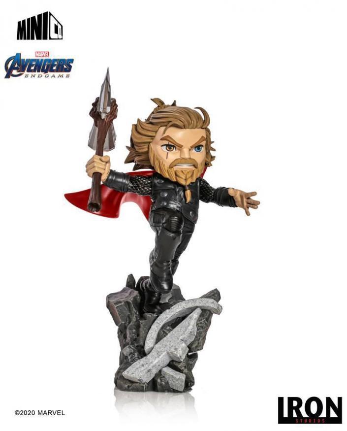 Avengers endgame thor figurine mini co 20cm