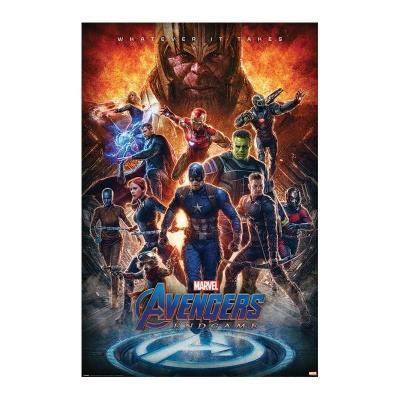 Avengers endgame whatever it takes poster 61x91cm