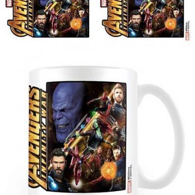 Avengers infinity war space montage mug 315ml