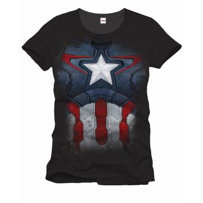 Avengers marvel t shirt captain suit