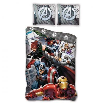 Avengers parure de lit 140x200 100 microfibre