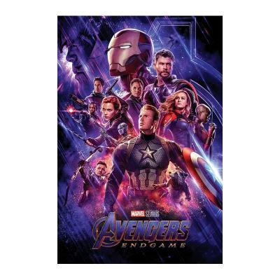 Avengers poster 61x91 endgame journey s end