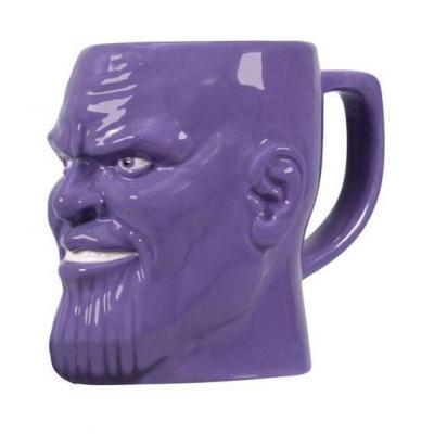 Avengers thanos mug 3d