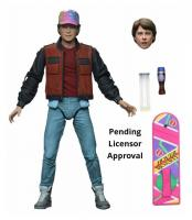 Back to the future 2 ultimate marty mcfly figurine articulee 18cm 1