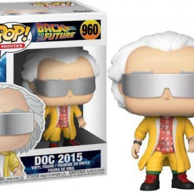 Back to the future bobble head pop n 960 doc 2015