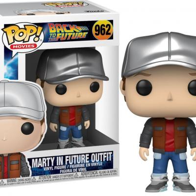 Back to the future bobble head pop n 962 marty in future outfit