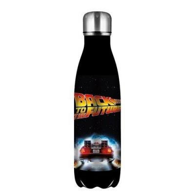Back to the future bouteille en metal 500ml