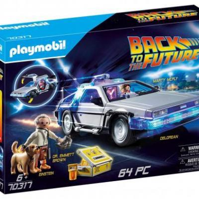 Back to the future delorean playmobil
