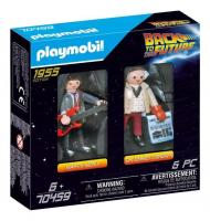 Back to the future dual pack marty mc fly et dr brown playmobil 1