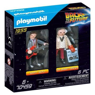 Back to the future dual pack marty mc fly et dr brown playmobil