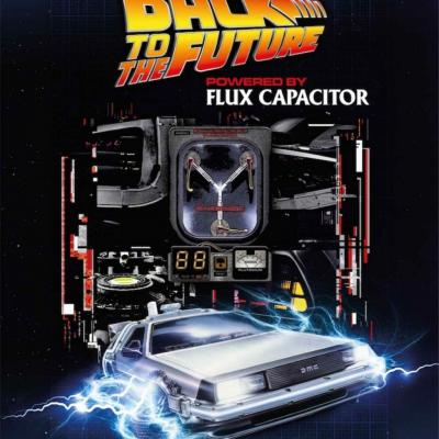 Back to the future flux capacitor puzzle 1000p
