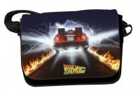 Back to the future messenger bag delorean trails 1