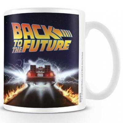 Back to the future mug 300 ml delorean