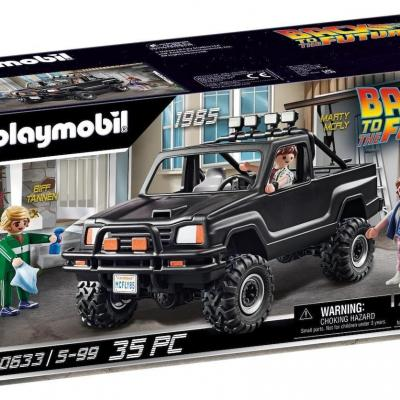 Back to the future pick up de marty playmobil