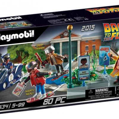 Back to the future scene parti ii course playmobil