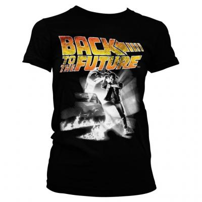 Back to the future t shirt poster girl