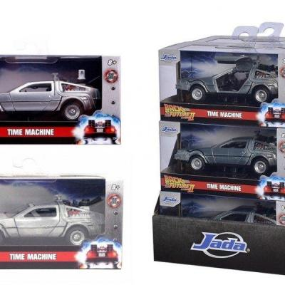 Back to the future time machine 1 32 assortiment 6 pcs 3 3