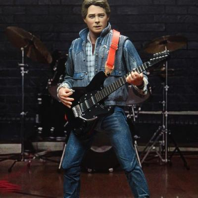 Back to the future ultimate audition 85 marty mcfly figurine 18cm