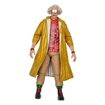 Back to the future ultimate doc brown 2015 figurine articulee 18cm