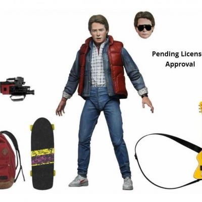 Back to the future ultimate marty mcfly figurine articulee 18cm
