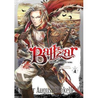 Baltzar la guerre dans le sang tome 4