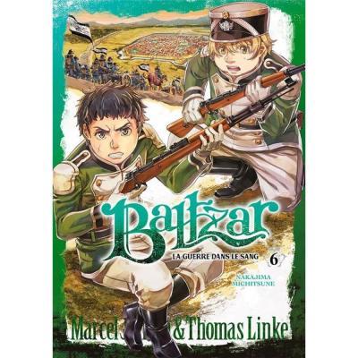 Baltzar la guerre dans le sang tome 6