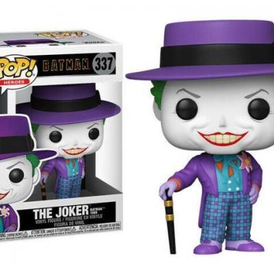 Batman 1989 bobble head pop n 337 joker w hat