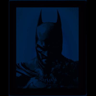 Batman 3d lenticular poster 26x20 batman joker arkham origins