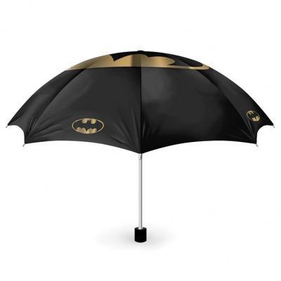 Batman bat and gold parapluie