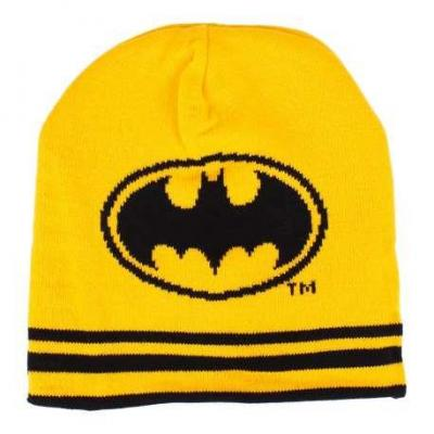 Batman bonnet classic reversible black yellow