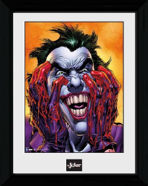 Batman collector print 30x40 batman joker laugh