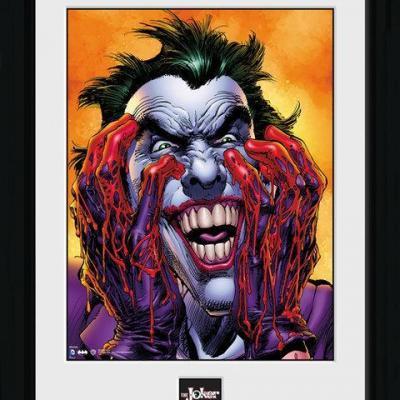 Batman collector print 30x40 batman joker laugh