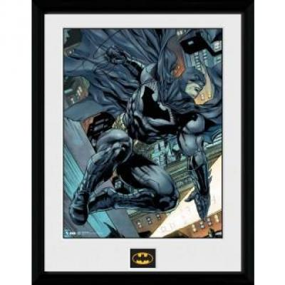 Batman collector print 30x40 comic swing
