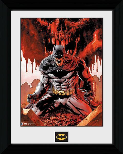 Batman collector print 30x40 seeing red