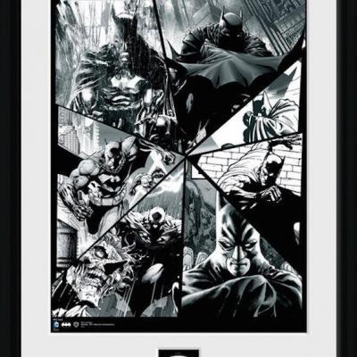 Batman comic collector print 30x40 collage