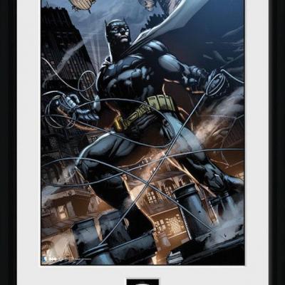 Batman comic collector print 30x40 rope