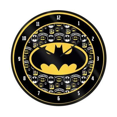 Batman logo horloge en plastique diametre 25cm