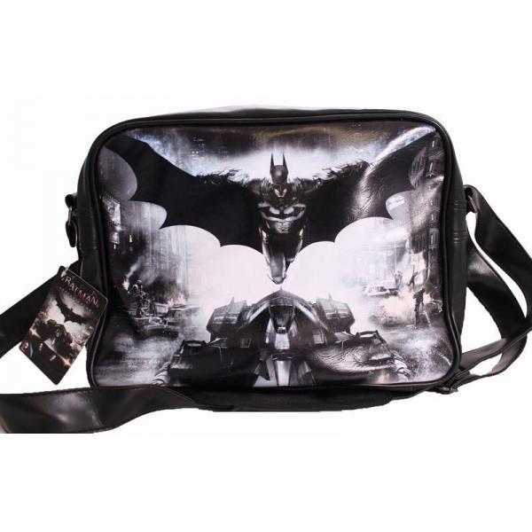 Batman messenger bag arkham knight affiche