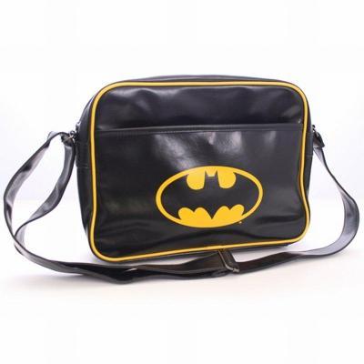 Batman messenger bag vinyl batman logo
